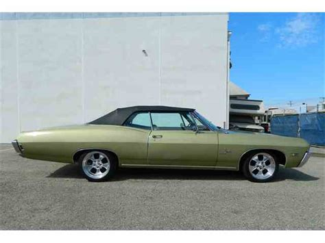 1968 chevy impala ss convertible for sale 1968 to 1970 chevrolet impala ss for sale on classiccars