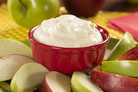 fluffy cream cheese fruit dip mrfood com