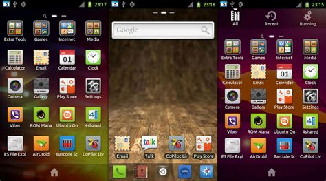 ubuntu themes for android phones golauncher ex ubuntu theme android omg ubuntu