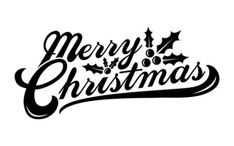 merry christmas text font graphic   vector art stock graphics images