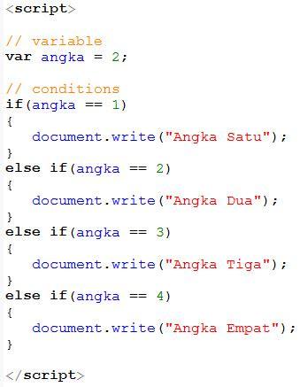 membuat json dengan javascript membuat kondisi dengan javascript