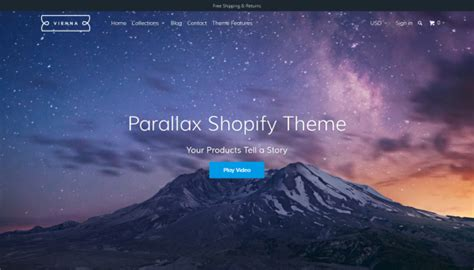 shopify themes luna 70 awesome shopify themes for ecommerce websites