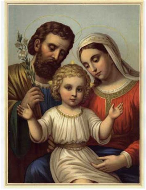 liturgia latina the holy family of jesus mary and joseph