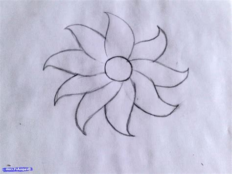 Beautiful Easy To Draw Flowers by How To Draw Beautiful And Easy Flowers Drawing Artistic