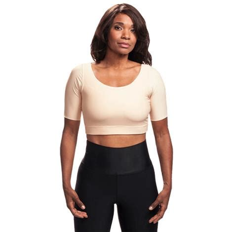 Shoulder Support Compression Top L S Embio Lp 230 Z wear ease compression crop top made in usa hpfy