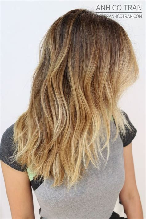 tri layer of dying hair 12 trendy medium layered haircuts for 2016 ombre medium