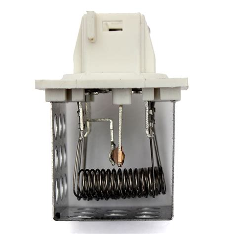 heater resistor values heater fan motor blower resistor for peugeot 206 6450nx 205 aluminum car ebay