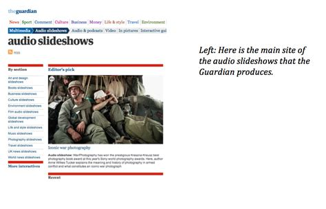 Journalism Portfolio by Journalism Portfolio Report Guardian