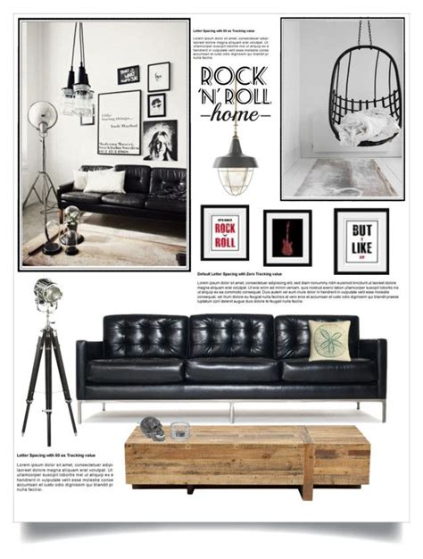 Rock N Roll Home Decor Quot Rock N Roll Home Quot By Jecikilicica Liked On Polyvore Featuring Interior Interiors Interior