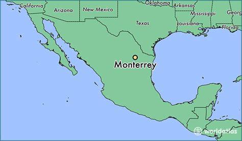 map of monterrey mexico where is monterrey mexico monterrey nuevo map