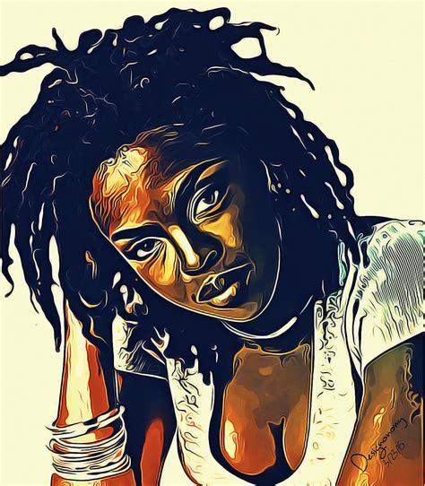 lauryn hill drawing the soul of lauryn hill digital art by designonomy the