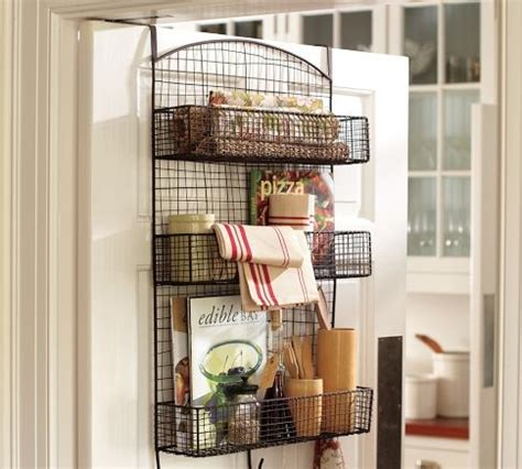 the door wire storage eclectic pantry and