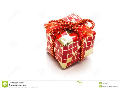 small christmas gift royalty free stock photography