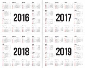 Calendario 2018 And 2019 Calendario 2017 E 2017 2017 Calendar Printable