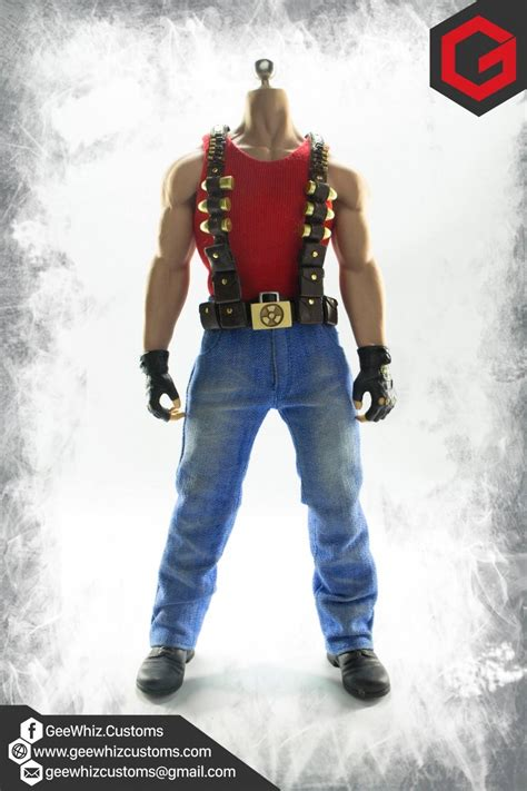 Costume Set geewhiz customs 1 6 scale duke nukem costume set