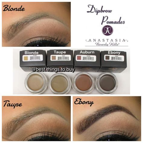 anastasia beauty hills dip brow pomade shade blonde 96 best images about anastasia beverly hills on pinterest