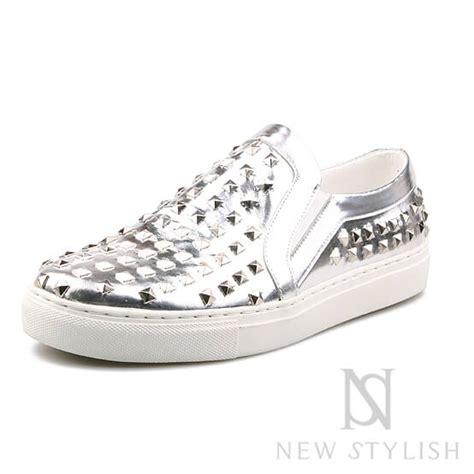 Garetha Studs Glossy Flats Shoes shoes 225