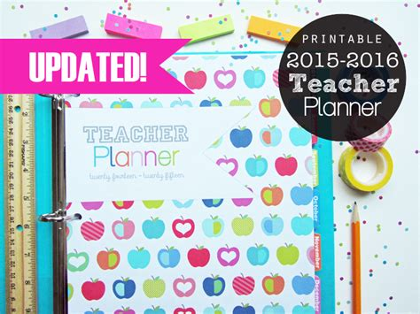 printable teacher planner 2015 printable daily planner 2016 calendar template 2016