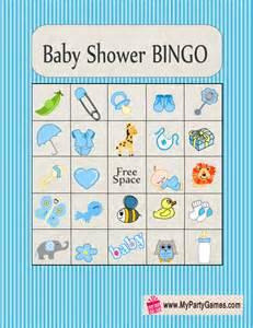 baby shower picture bingo