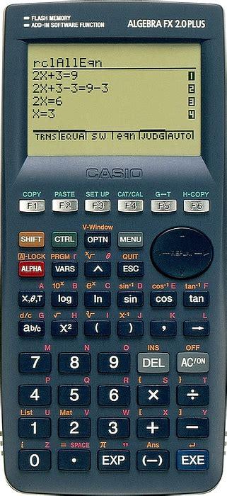 Kalkulator Casio Fx4500 up algebra fx2 0 plus products casio wew