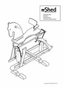 Rocking Chair Classic Simple Rocking Horse Plans Free Easy Diy Idea Projects