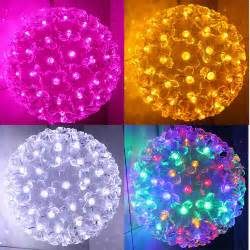 led lighting holiday lights string light ball lighting