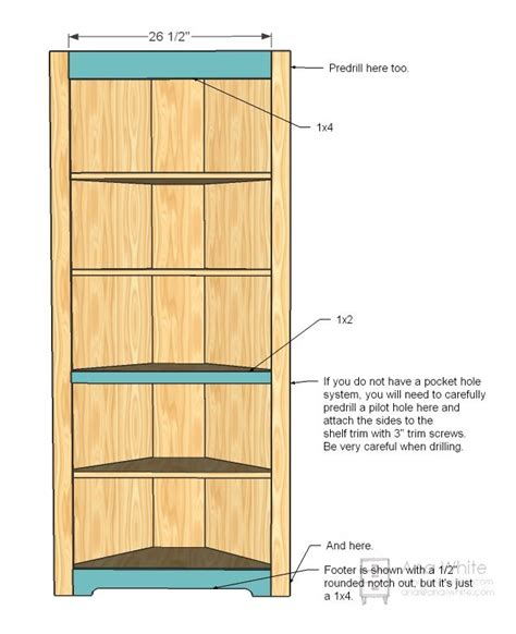 Build A Corner Cabinet by 25 Best Ideas About Corner Cupboard On