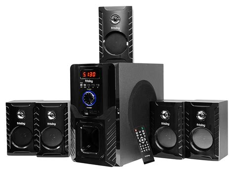 gpx ht050b 5 1 channel home theater speaker system review