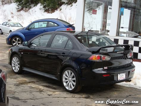2011 Mitsubishi Lancer Gts 5 Speed Sedan With Only 31k
