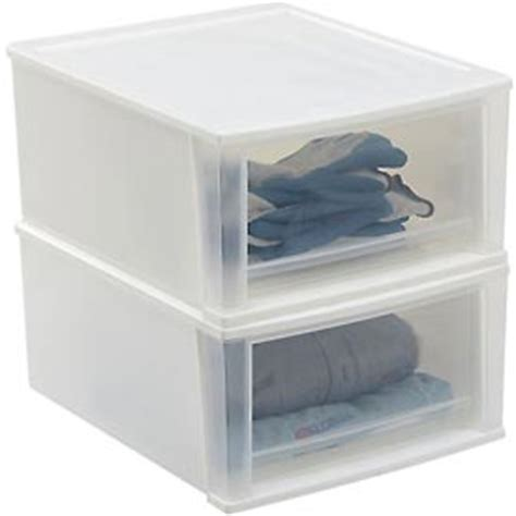 Plastic Stacking Drawers by Bins Totes Containers Drawers Stacking Iris Stacking Drawer 18 7 8 Quot X 15 11 16 Quot X 8 7 8