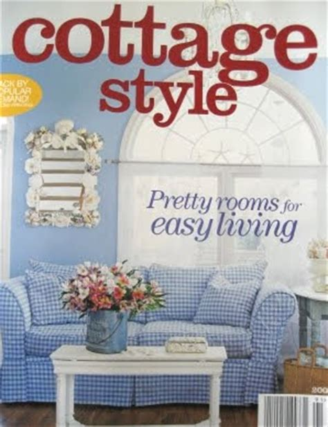 Beach Cottage Style Decorating Via Cottage Style Magazine Cottage Design Magazine