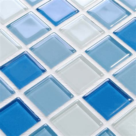 pool bathroom flooring crystal glass mosaic tile wall stickers kitchen backsplash tile swimming tile floor