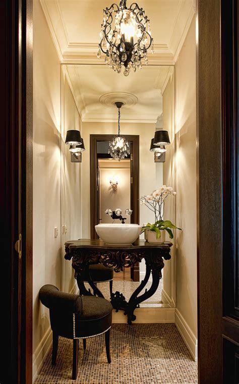 powder room mirrors Powder Room Contemporary with bathroom