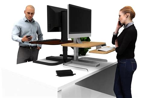 Nextdesk Crossover Turns Desks Into Powered Sit To Stand Powered Standing Desk