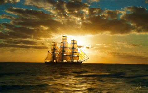 clipper ship wallpaper wallpapersafari