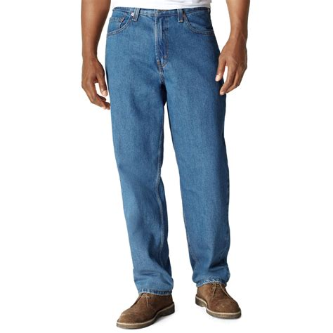 levi comfort waist jeans levi s 560 comfort fit medium stonewash jeans in blue for