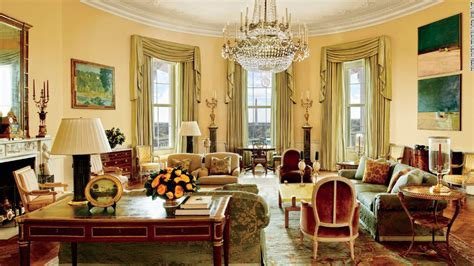 obama white house tour look inside the obamas private living quarters cnn