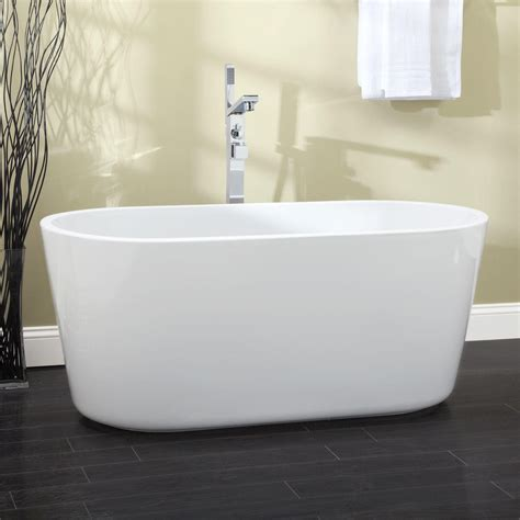 bathrooms with freestanding tubs barkley acrylic freestanding pedestal tub bathroom