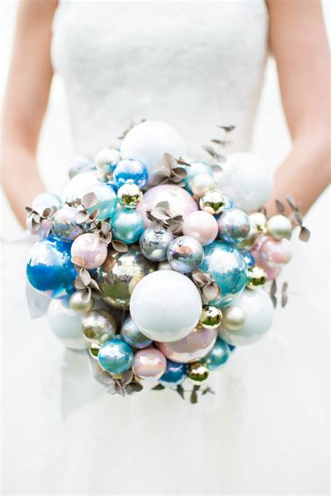 Wedding Bouquet Bauble baubles in your bouquet how easy