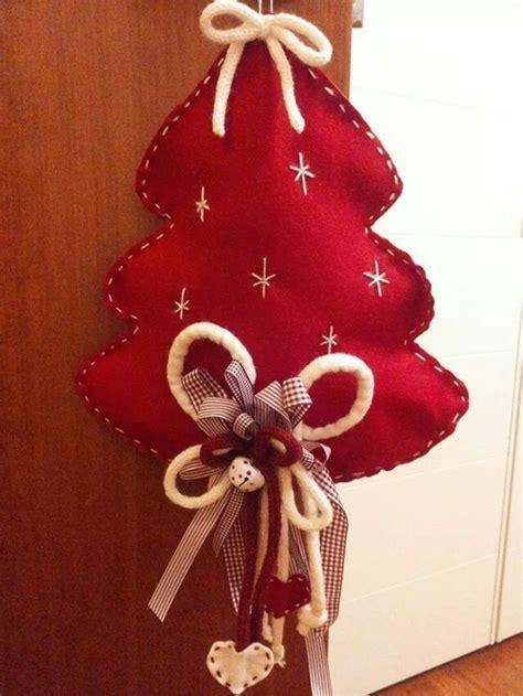 fuori porta natalizio fai da te fuoriporta natalizio alberi di natale