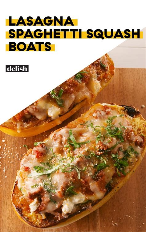 rock the zucchini boat lasagna spaghetti squash boats recipe recipes