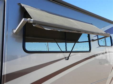motorhome window awnings western rv flying the koop