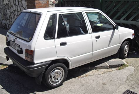 Maruti Suzuki 800 Specifications File Suzuki Maruti 800 Jpg Wikimedia Commons