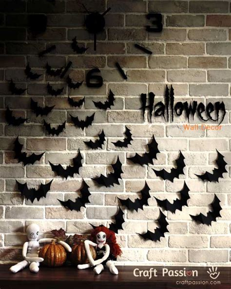 8 quick and easy halloween craft decoration ideas rent 26 easy diy halloween decorations