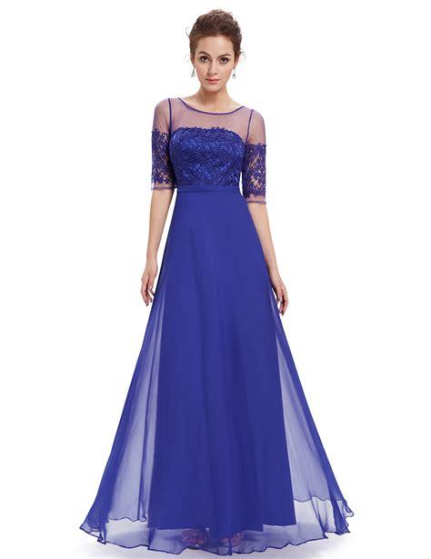 Bridesmaid Dresses Uk Sleeve - half sleeve bridesmaid wedding dress cocktail prom