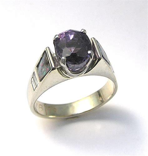 purple engagement rings uk images