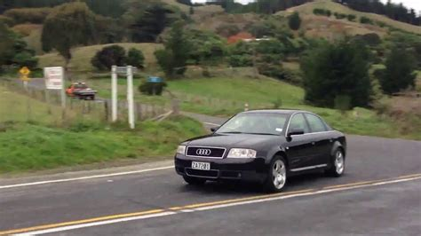 Audi A6 Acceleration by 2000 Audi A6 4 2 Acceleration Out Of Corner Youtube
