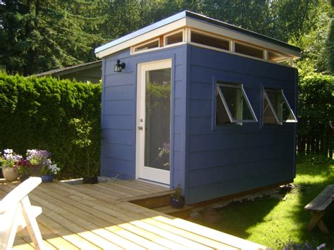 Garden Bedroom Shed Backyard Bedroom Kit 8 X 12 Modern Shed