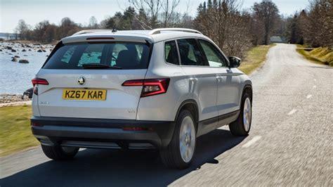 skoda cars uk reviews skoda karoq 2017 review honey i shrunk the kodiaq by