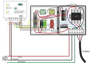 single phase submersible starter wiring diagram gooddy org